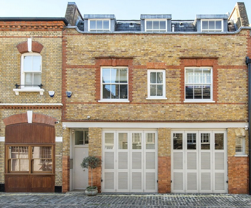 Image of Wimpole Mews, Marylebone Village, London, W1G